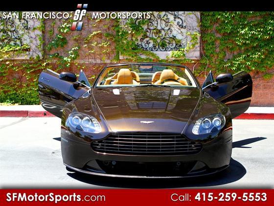 2011 Aston Martin V8 Vantage S Roadster:8 car images available