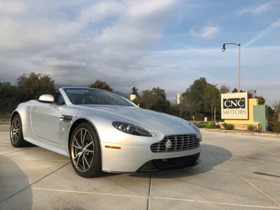 2012 Aston Martin V8 Vantage S Roadster:8 car images available