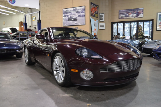 2003 Aston Martin Vanquish :24 car images available