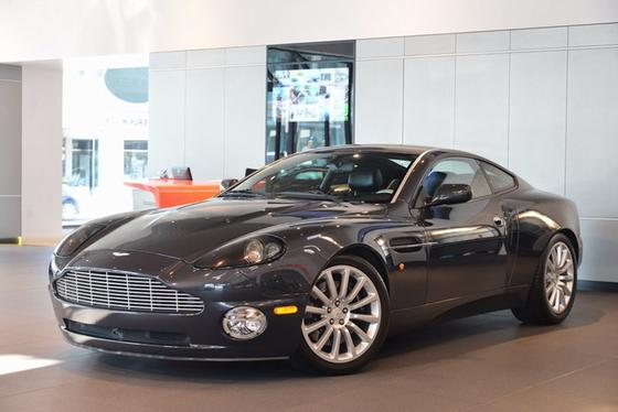 2003 Aston Martin Vanquish Coupe:24 car images available