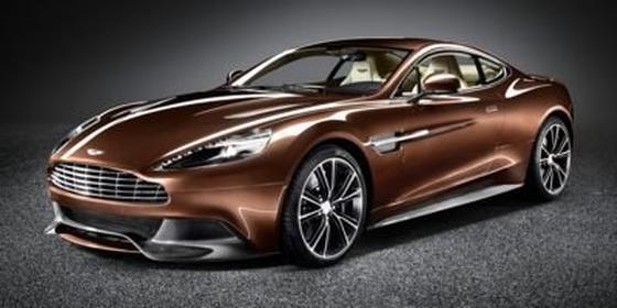 2014 Aston Martin Vanquish Coupe : Car has generic photo