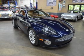2004 Aston Martin Vanquish Coupe:9 car images available