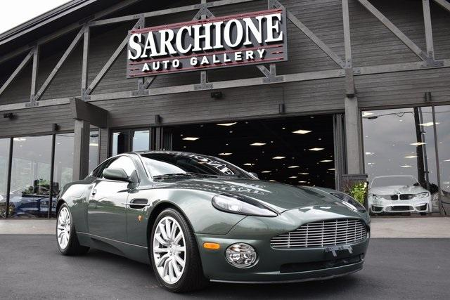 2002 Aston Martin Vanquish Coupe:24 car images available