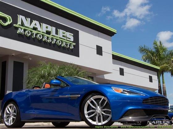 2015 Aston Martin Vanquish Volante:24 car images available