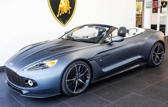 2018 Aston Martin Vanquish Zagato Volante:24 car images available