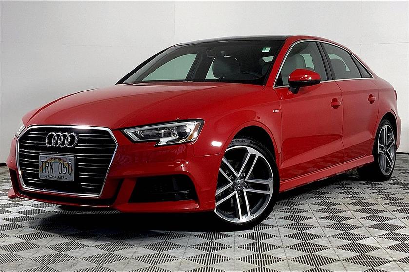 2018 Audi A3 2.0T Premium:24 car images available