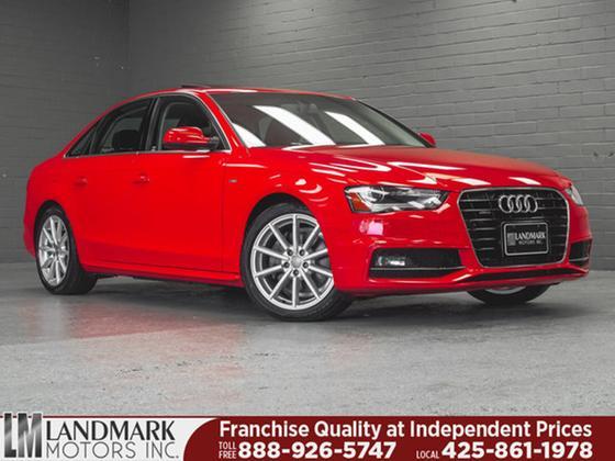 2015 Audi A4 2.0T Premium Plus:24 car images available