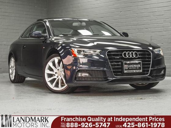 2016 Audi A5 2.0T Quattro Premium Plus:24 car images available