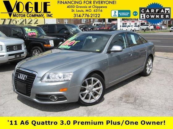 2011 Audi A6 3.0T Premium Plus:24 car images available