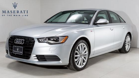 2014 Audi A6 3.0T Premium Plus:24 car images available