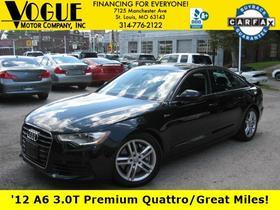 2012 Audi A6 3.0T Premium Plus:24 car images available