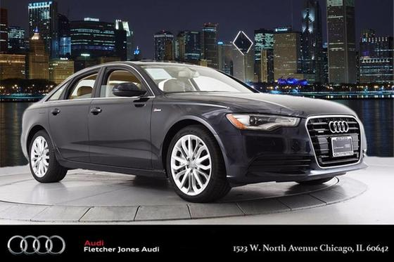 2014 Audi A6 3.0T:24 car images available
