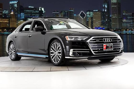 2020 Audi A8 :24 car images available