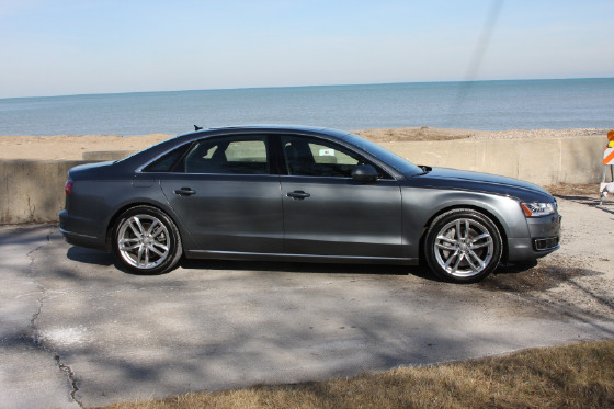 2015 Audi A8 L 3.0T:10 car images available