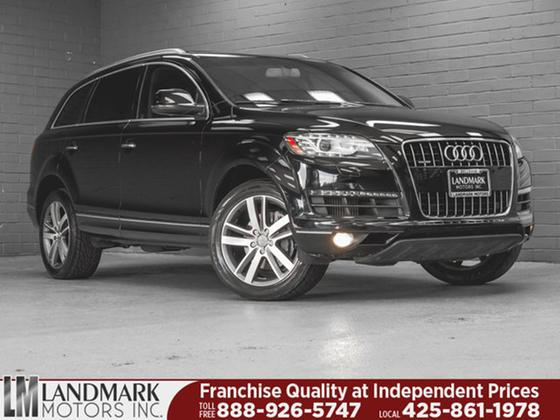 2012 Audi Q7 3.0L TDI Premium Plus:24 car images available