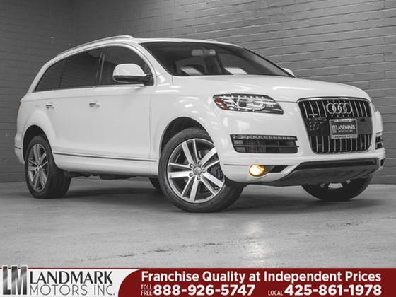 2012 Audi Q7 3.0L TDI Premium Plus:24 car images available