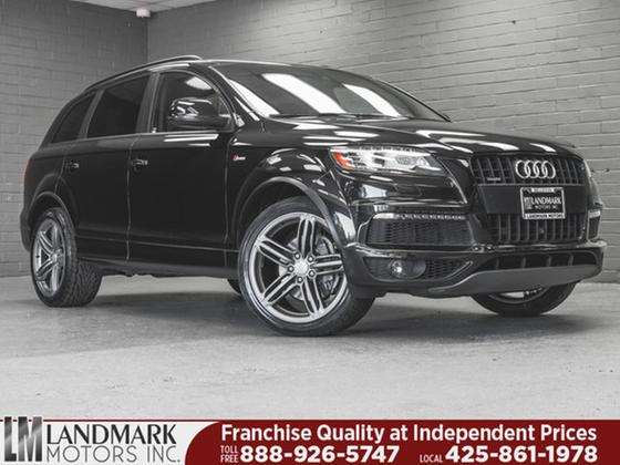 2015 Audi Q7 3.0T S-Line:24 car images available