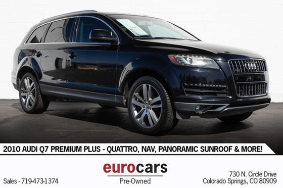 2010 Audi Q7 Premium Plus:24 car images available
