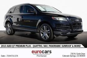 2010 Audi Q7 Premium Plus:24 car images available