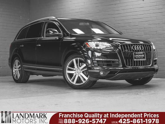 2012 Audi Q7 Prestige:24 car images available