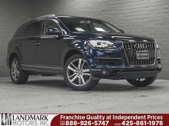2012 Audi Q7 Prestige:24 car images available