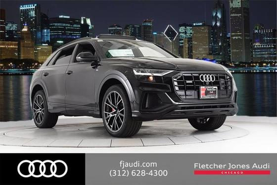 2019 Audi Q8 Premium Plus:24 car images available