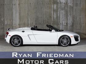 2012 Audi R8 4.2 Spyder : Car has generic photo