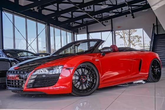 2011 Audi R8 5.2 Spyder:24 car images available