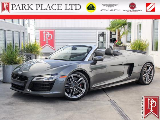 2014 Audi R8 5.2 Spyder:24 car images available