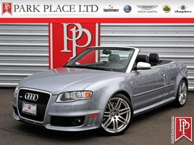 2008 Audi RS4 AWD Cabriolet:24 car images available