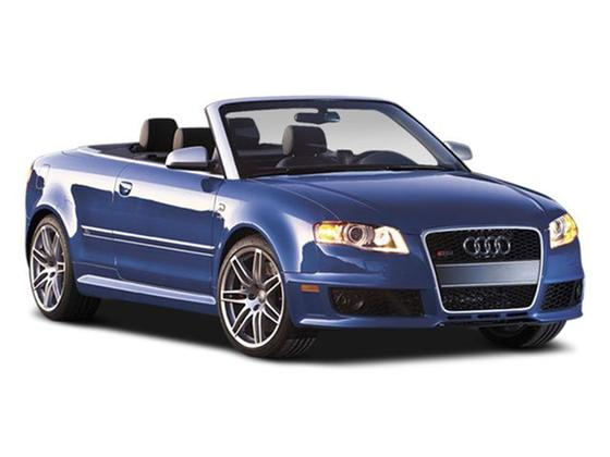 2008 Audi RS4 AWD Cabriolet : Car has generic photo