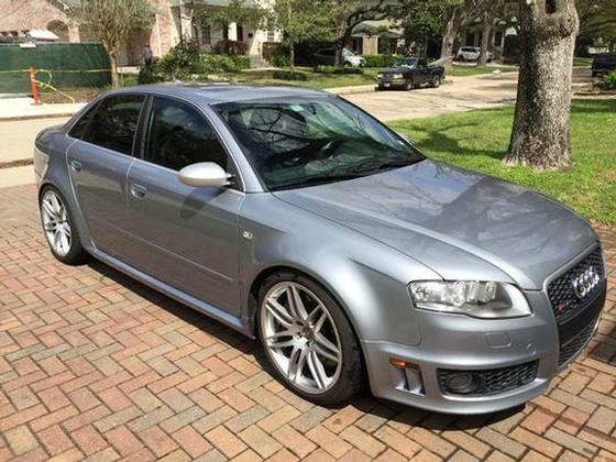 2007 audi rs4 awd sedan for sale in houston tx exotic car list. Black Bedroom Furniture Sets. Home Design Ideas