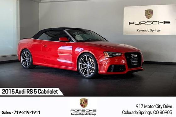2015 Audi RS5 Cabriolet:24 car images available