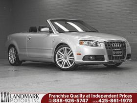 2007 Audi S4 Convertible:24 car images available