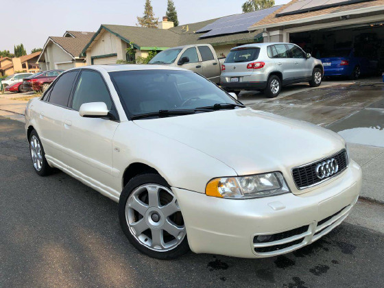 2001 Audi S4 Modified