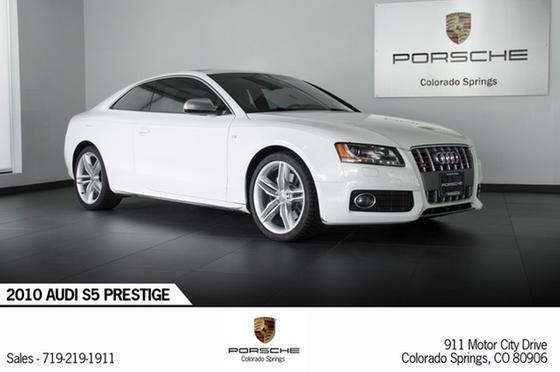 2010 Audi S5 Prestige:22 car images available