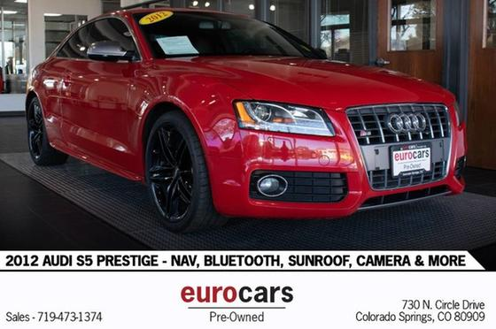 2012 Audi S5 Prestige:24 car images available