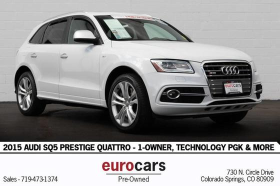 2015 Audi SQ5 Prestige:24 car images available