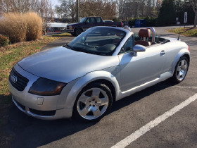 2001 Audi TT Roadster:12 car images available