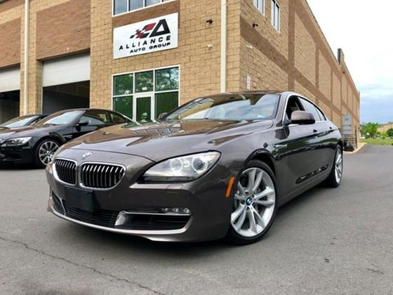 2014 BMW 640 i Gran Coupe
