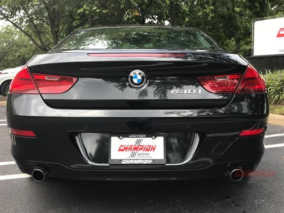 2012 BMW 640 i