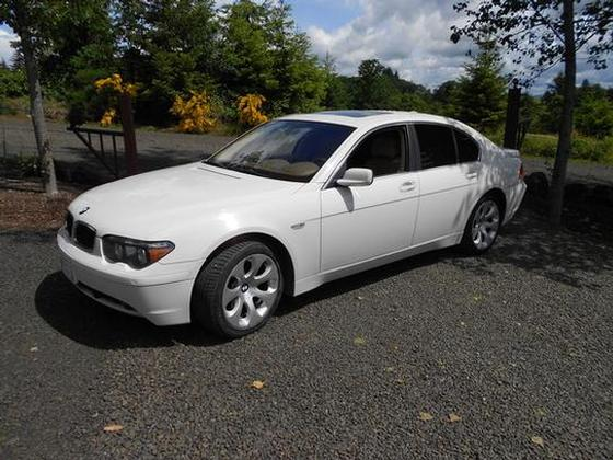 2004 BMW 745 i:5 car images available