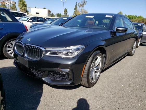 2016 BMW 750 i xDrive:9 car images available