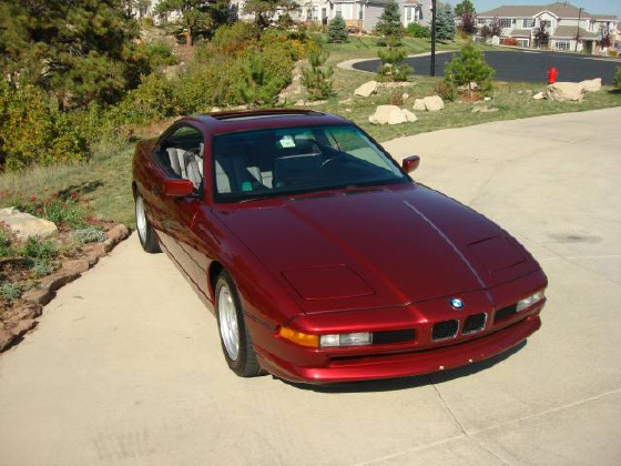 1991 BMW 850 i:4 car images available