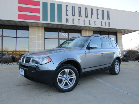 2005 BMW X3 3.0:20 car images available