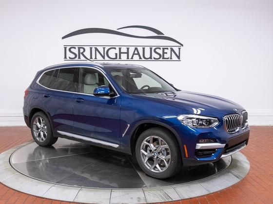 2021 BMW X3 xDrive30i:24 car images available