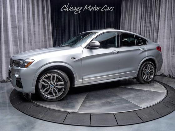2017 BMW X4 M40i:24 car images available