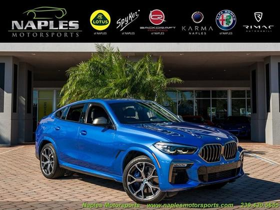 2020 BMW X6 M50i:24 car images available