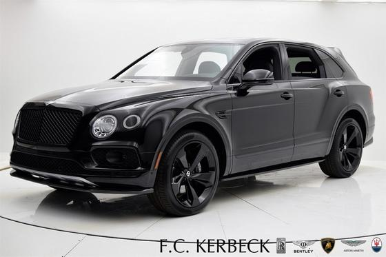 2018 Bentley Bentayga Black Edition:24 car images available