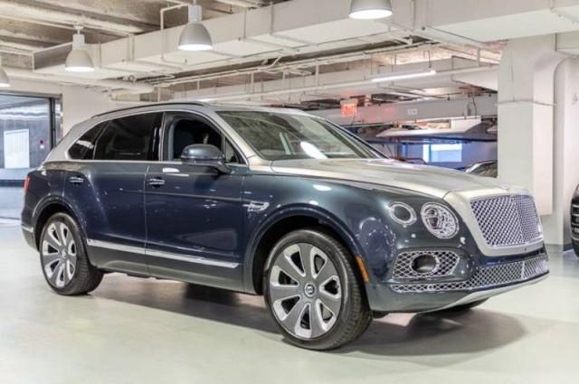 2018 Bentley Bentayga Mulliner:15 car images available